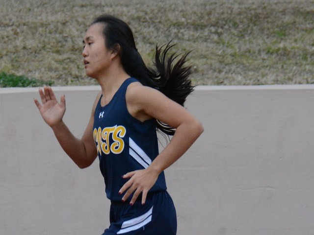 2019 Dual Meet - Junior Rebekah Miller - 800 M Run