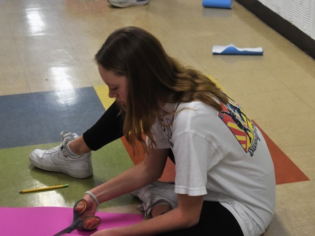 2019 Community Service Project - Voice of Hope - Freshman Leah Lavoie