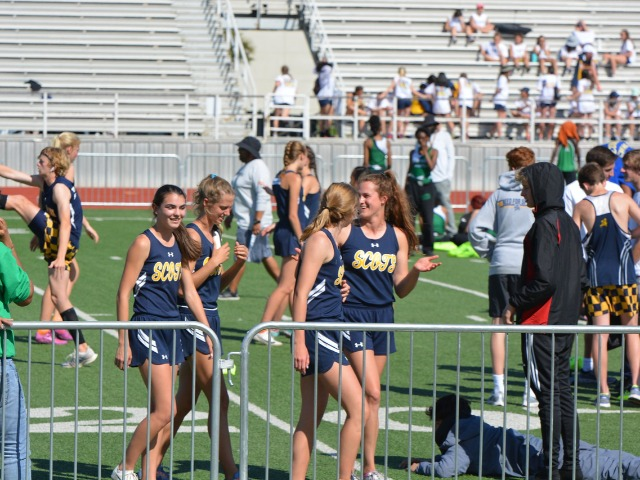 2019 District 11-5A Meet - 4 x 400 M Relay