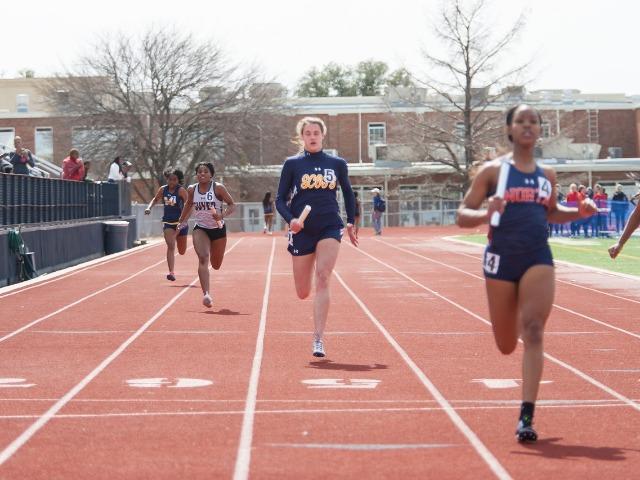 2019 McKinney Boyd Relays - Sophomore Ella Patterson - Anchor Leg - Varsity 4 x 100 M Relay