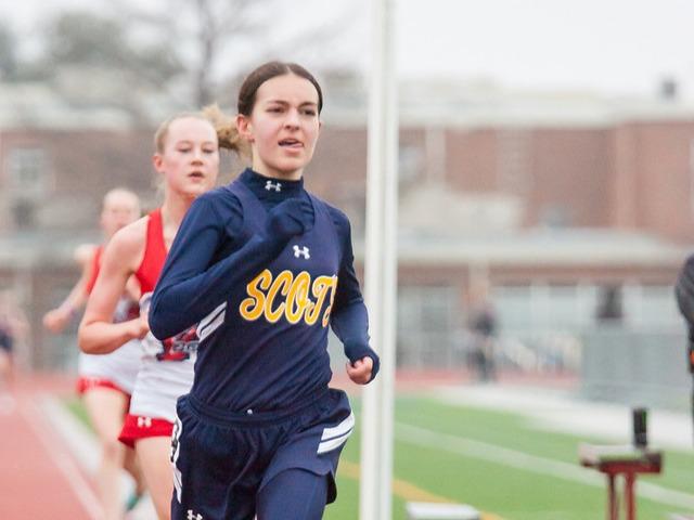 2019 McKinney Boyd Relays - Sophomore Sophia Oliai - 3200 M Run