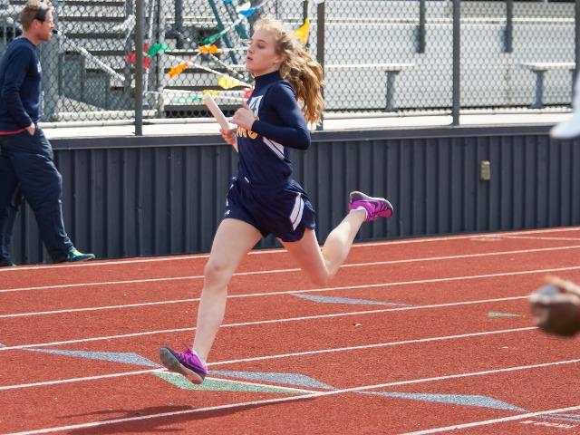 2019 McKinney Boyd Relays - Sophomore Emma Means - 4th Leg - JV 4 x 100 M Relay