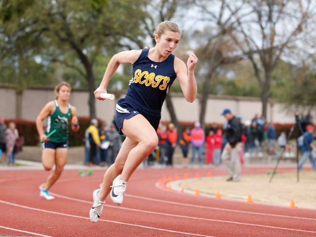 2019 Tracy Wills Invitational - Freshman Scarlett Randall - 4 x 100 M Relay