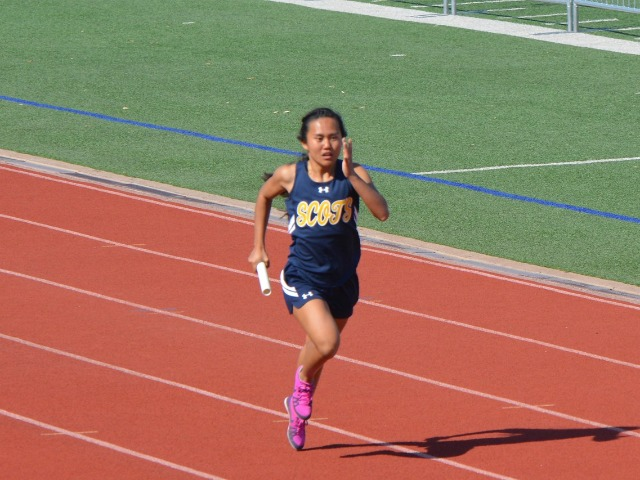 2019 District 11-5A Meet - Junior Rebekah Miller - 4 x 400 M Relay