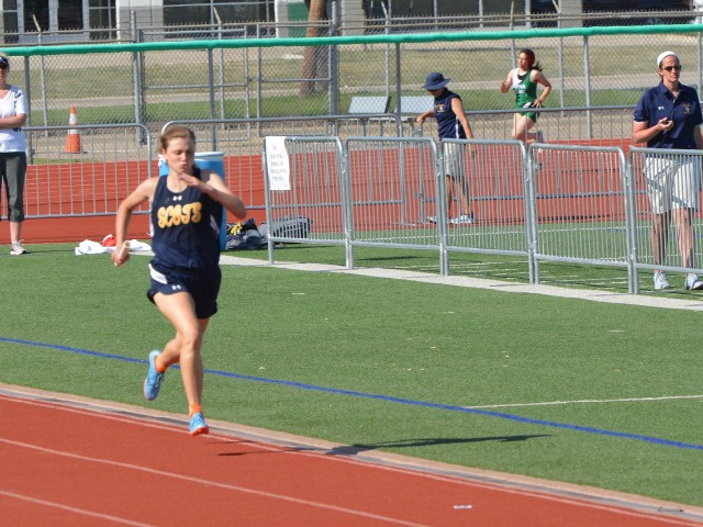 2019 District 11-5A Meet - Junior Mary Warriner Kemp - 4 x 400 M Relay