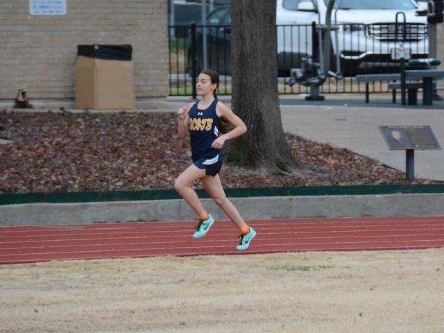 2019 Dual Meet - Sophomore Sophia Oliai - 1600 M Run