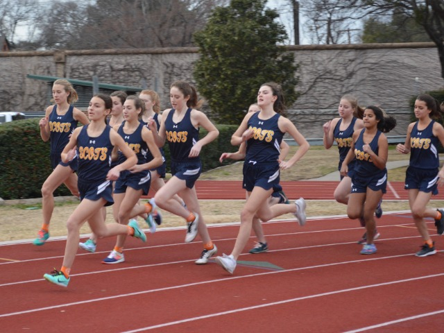 2019 Dual Meet - Start of the 1600 M Run