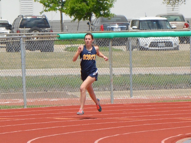 2019 District 11-5A Meet - Junior Margaret Chambless - 400 M Dash