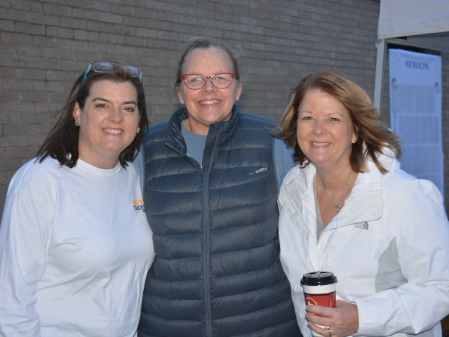 2019 Tracy Wills Invitational - Captains' Moms - Mrs. Stephens, Mrs. Cobb, and Mrs. Conner