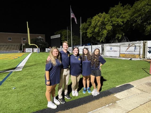 AT Students @ Highlander Stadium After the Flower Mound Game