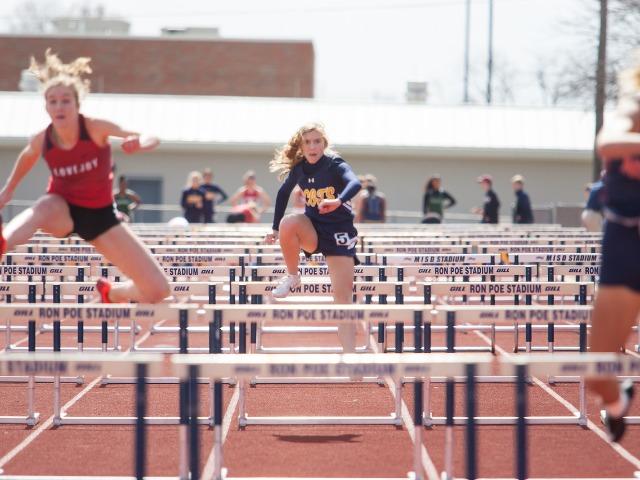 2019 McKinney Boyd Relays - Freshman Scarlett Randall - 100 M Hurdles