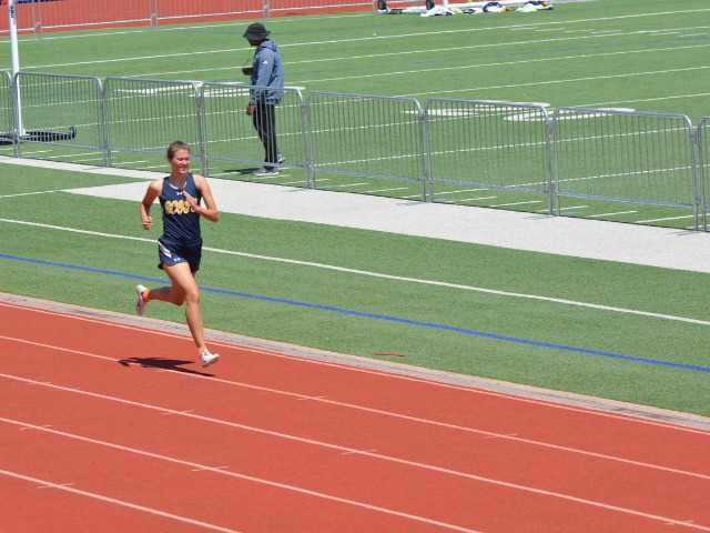 2019 District 11-5A Meet - Junior Margaret Kemp - 800 M Run