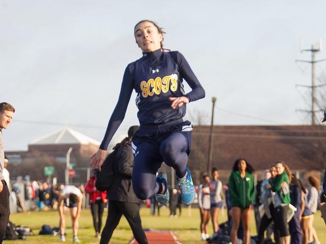 2019 McKinney Boyd Relays - Freshman Abigail Schott - Long Jump