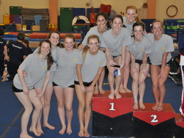 HP Varsity Girls Gymnastics Alumni Photos