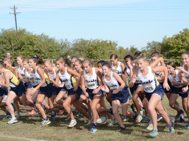2019 District 11-5A Championship - Start of JV Race