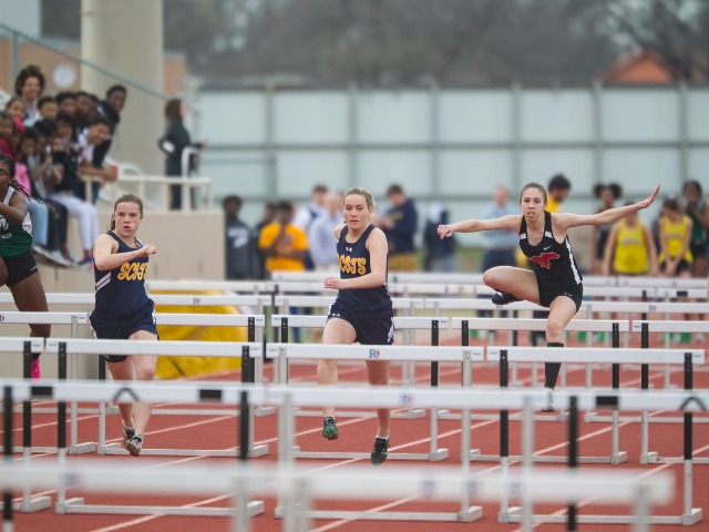 2019 Richardson Invitational - Junior Kate Allen and Sophomore Kathryn Dunnill - 100 M H