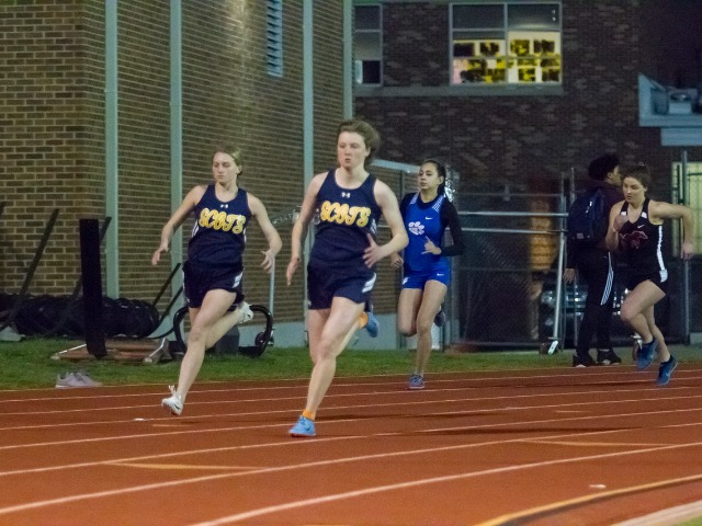 2019 Richardson Invitational - Juniors Mary Warriner Kemp and Lizzie Means - 400 M Dash