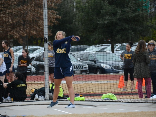 2019 Dual Meet - Junior Georgia Holsomback - Discus