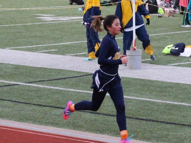2019 Legacy Bronco Relays - Freshman Lola Rodriguez - 3200 M Run