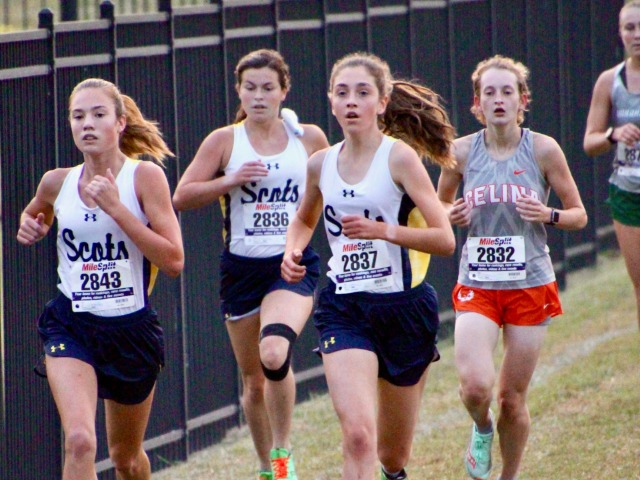2020 Jaguar 2 Mile Invitational - Charlotte, Sara, Izzy