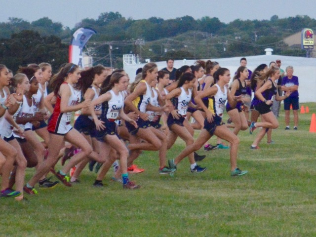 2018 Birdville Invitational - Varsity Start of Race