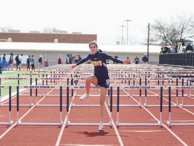 2019 McKinney Boyd Relays - Junior Ashley Nelson - 100 M Hurdles