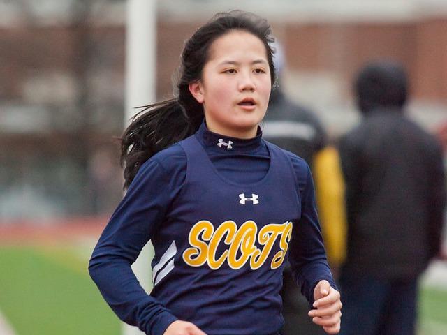 2019 McKinney Boyd Relays - Sophomore Hollis Vaughan - 3200 M Run