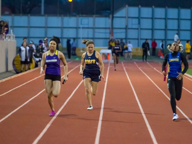 2019 Richardson Invitational - Sophomore Anna Gregory - 4 x 200 M Relay