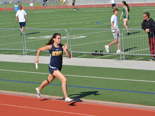 2019 District 11-5A Meet - Senior Captain Maddy Stephens - 4 x 400 M Relay