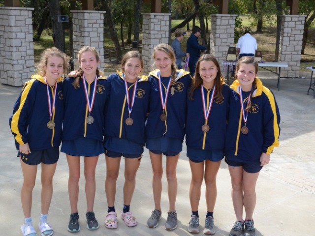 2019 District 11-5A Championship - Varsity Top 6 out of 10