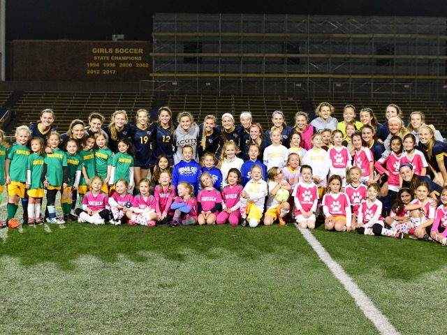Lady Scots Soccer Host Youth Night