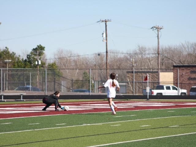 Lady Wildcat JV Soccer vs Texas High