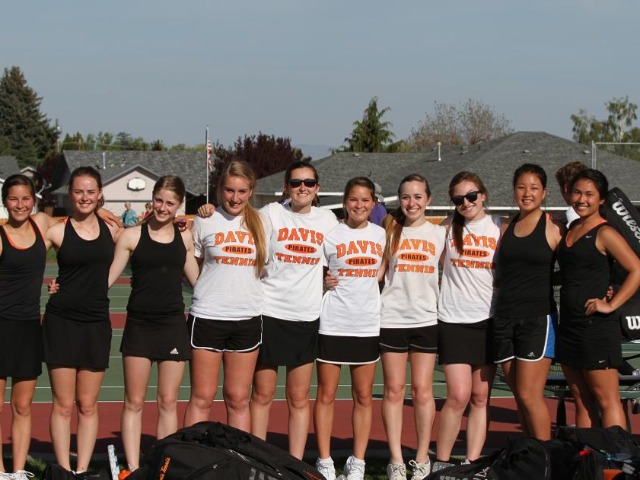 Girls Varsity Tennis Gallery Images