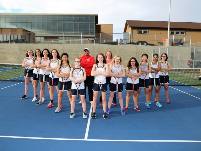 Girls Varsity Tennis Gallery Images