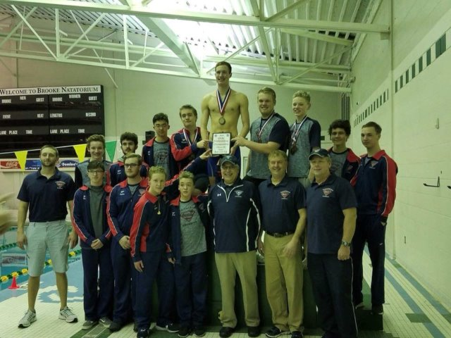 Parkersburg South Varsity Swimming Team