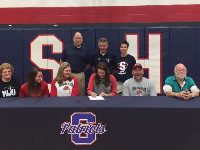 Patriots' hoopster Allie Taylor inks with Wheeling Jesuit