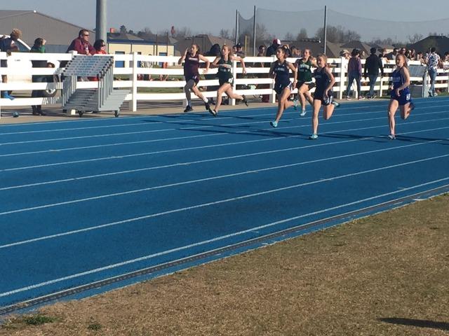 100m dash race
