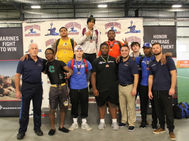 3rd place team finish at Virginia Beach Nationals Open 2018