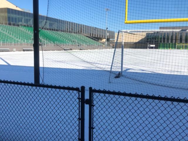 Snowy Game Field
