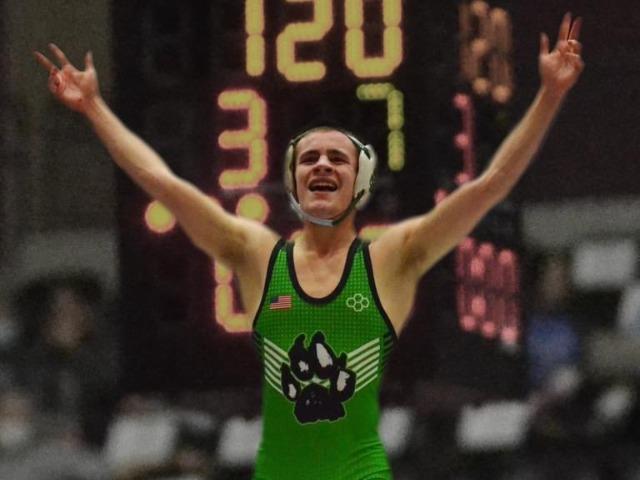 Trevor Edelen- 5A State Champion 120#