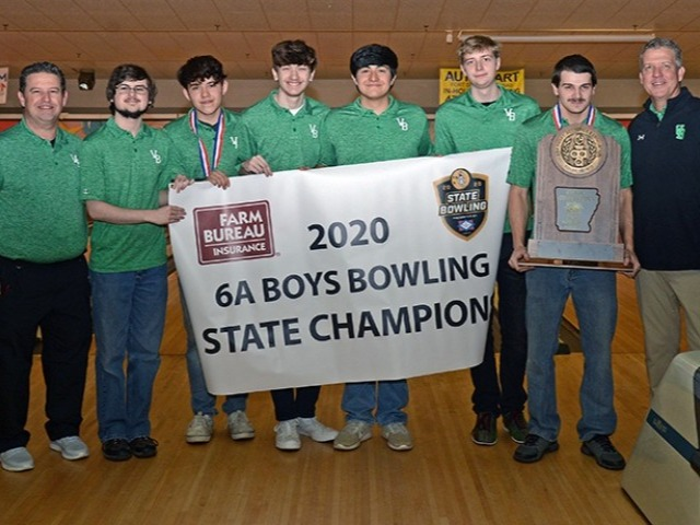 2020 Boys Bowling 6A State Champions
