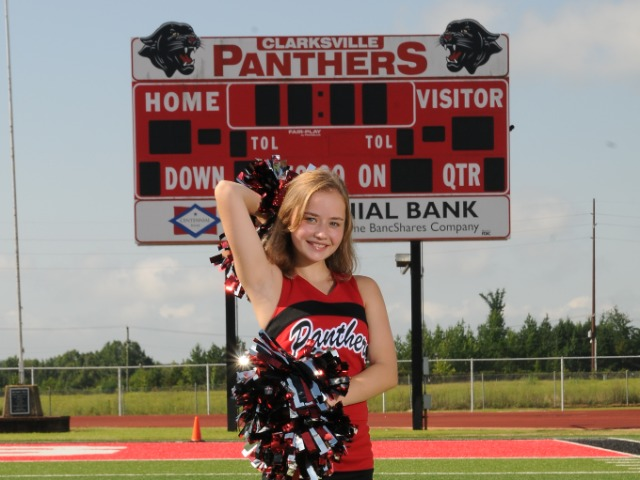 Girls Junior High Cheerleading Gallery Images