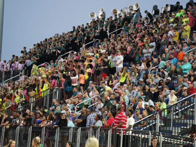 2021 FB vs. Edmond North (photos by M. Morton)