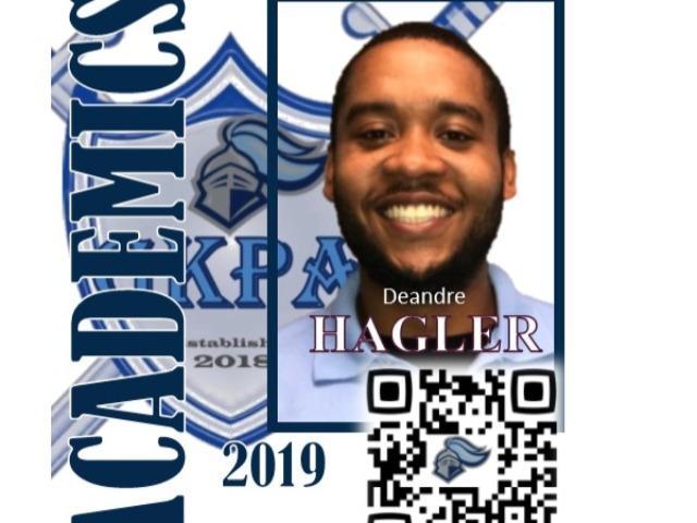 staff photo of DeAndre Hagler
