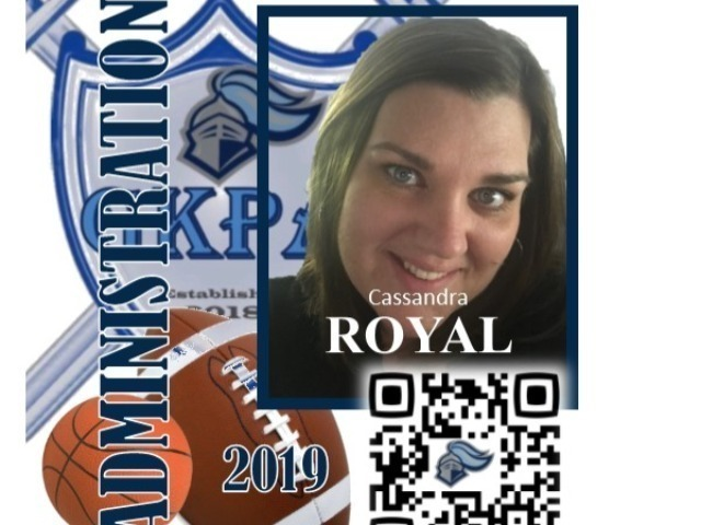 staff photo of Cassandra Royal