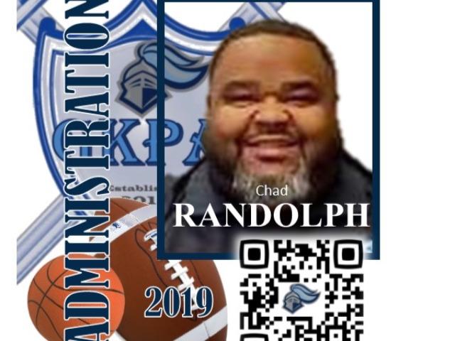 staff photo of Chad Randolph