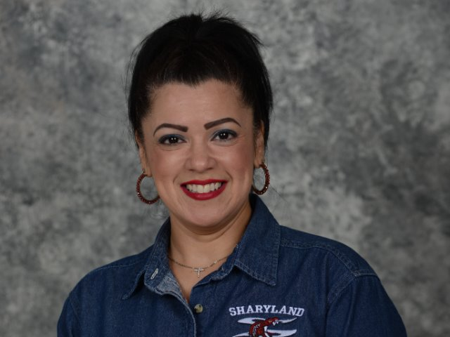 staff photo of Carmen DelaGarza